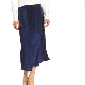 NWT B.P. Satin Midi Skirt